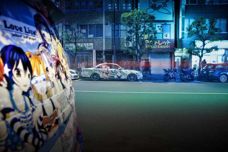 2015年2月13日撮影!秋葉原痛車ストリート(南ことりY34グロリア/絢瀬絵里ゼロクラウン)