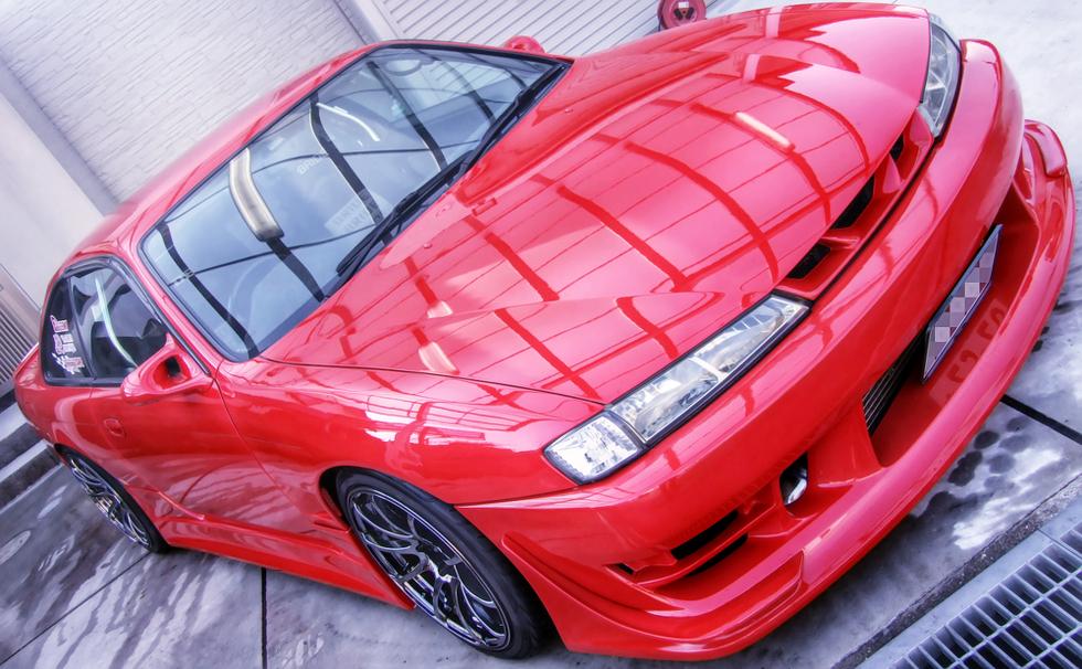改造費400万円!GT-RSタービン装着ヤシオ現車セッティング!S14後期シルビア