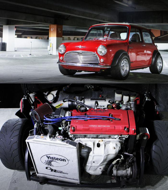 (海外)インテグラ用B18C型VTECエンジン換装!4ポットブレーキ!クラシックMINI&1JZ換装70カローラ動画