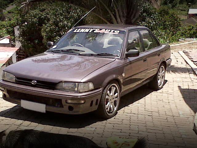 (南アフリカ)3S-GTEターボエンジン換装!E90カローラ4ドアセダン&名古屋オートトレンド動画