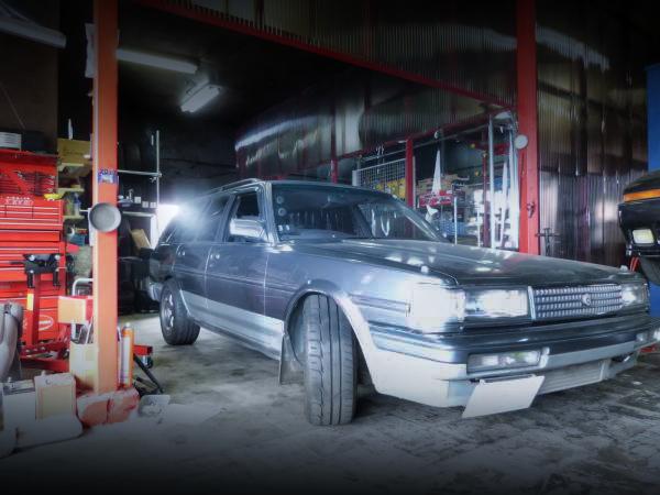 改造費200万円!1JZ-GTEエンジン換装!32R純正ホイール!GX70GトヨタマークⅡワゴン