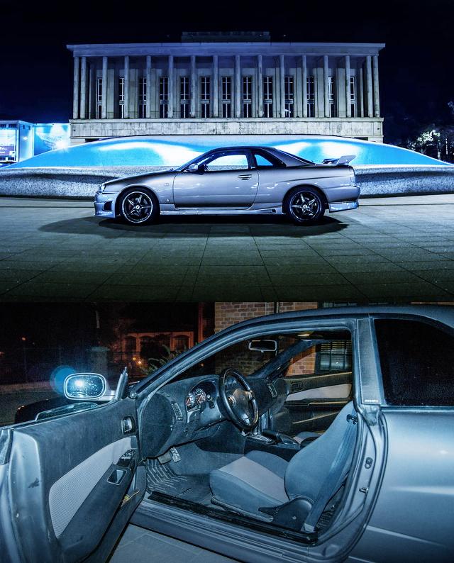 (ポーランド)左ハンドル化!R34日産スカイライン2ドア&2JZGTEエンジンE36型BMW・M3動画