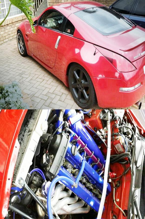 (南アフリカ)ネオ6モデルRB25DETターボエンジン換装!Z33フェアレディZ(350Z)&大黒PAサニーの日MT動画
