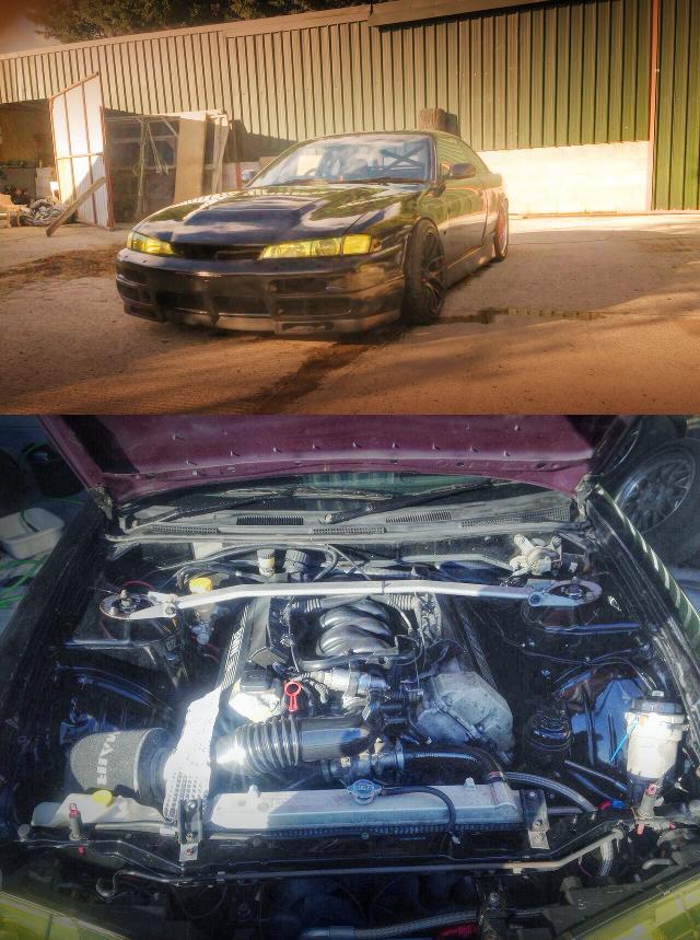 (海外)BMW用4000ccV8エンジン換装!M5用6MT換装!S14日産シルビア&1JZ換装E36BMW3シリーズ動画