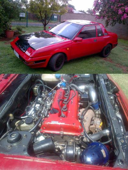 (南アフリカ)SR20DETターボエンジン換装!初代N12日産エクサ&名古屋オートトレンド痛車動画