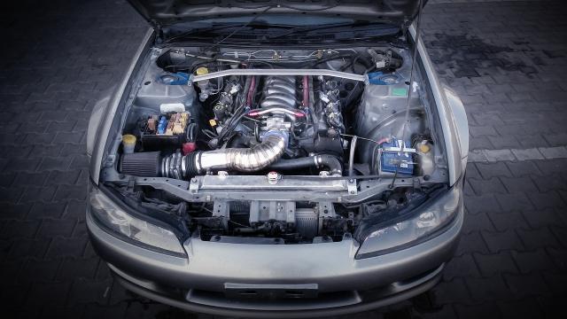 (海外)ファイヤーバード用LS1エンジン換装!S15シルビア&掲載車の動画