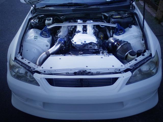 (海外)S14用SR20DETエンジン換装!オーバーフェンダーワイドボディ!アルテッツァ&掲載車の動画