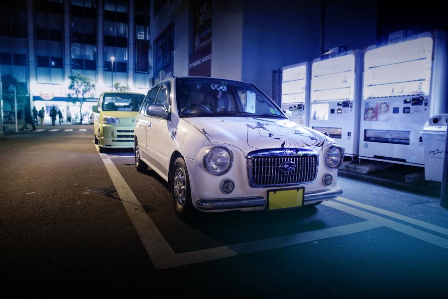 2015年2月27日撮影!秋葉原痛車ストリート(TARITARI沖田紗羽/スバル・ヴィヴィオビストロ)