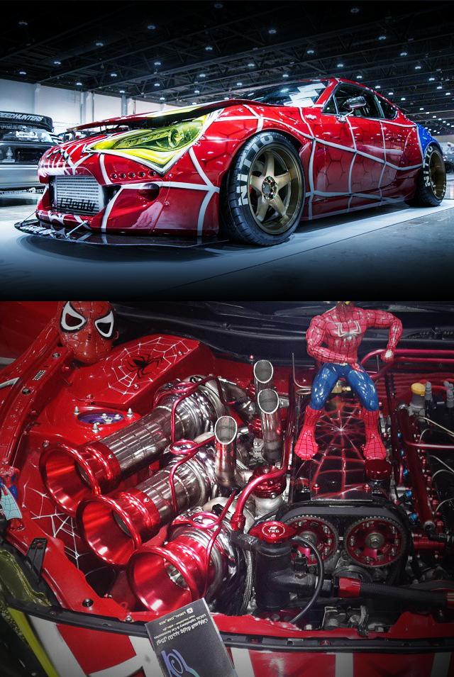 F6A改710CCエンジン!オーバーフェンダーワイドボディ!スズキ・カプチーノ&2JZ改トリプルターボ!トヨタ86動画