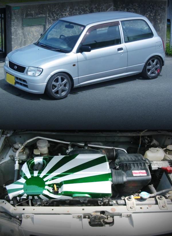 1.3リッター直4!K3-VE2エンジン移植!L700Vダイハツ・ミラ&大黒PA!ダイハツミラ動画