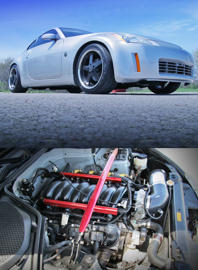 (海外)03コルベットZ06用LS6エンジン移植!カマロ用T56型6速MT換装!Z33日産350Z