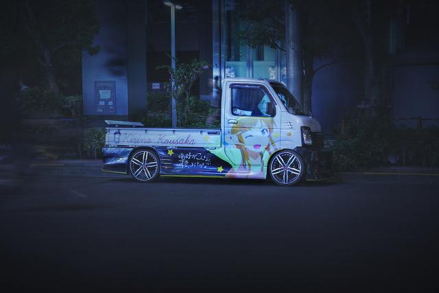 2015年4月3日撮影!秋葉原痛車ストリート(キャリイ/アルトワークス/トヨタ・ヴィッツ)