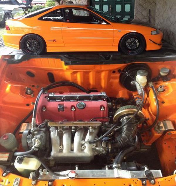 (フィリピン)DC5用K20A型i-VTECエンジン移植!JDMタイプR仕様!USDM(LHD)モデルDC2型インテグラ