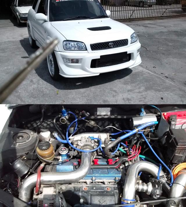 (マレーシア)ST205セリカ用3SGTEエンジン5速MT移植!4WDモデル初代トヨタRAV4&大黒PA街道レーサー動画