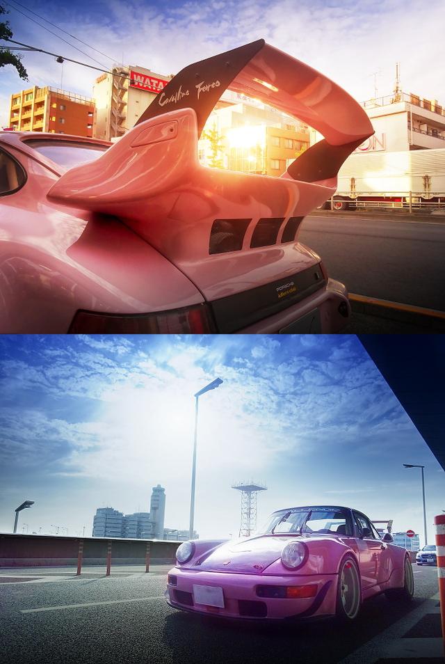 RWBワイドボディ仕上げ!7点式ロールバー・エアコンレス!964型ポルシェ911カレラ2&掲載車の動画