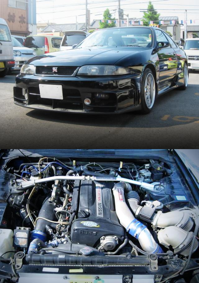 GTR仕上げ!RB26エンジン換装4WD移植!ブレンボブレーキ!R33スカイラインGTS25t&VTECターボ!ロータスエリーゼ動画