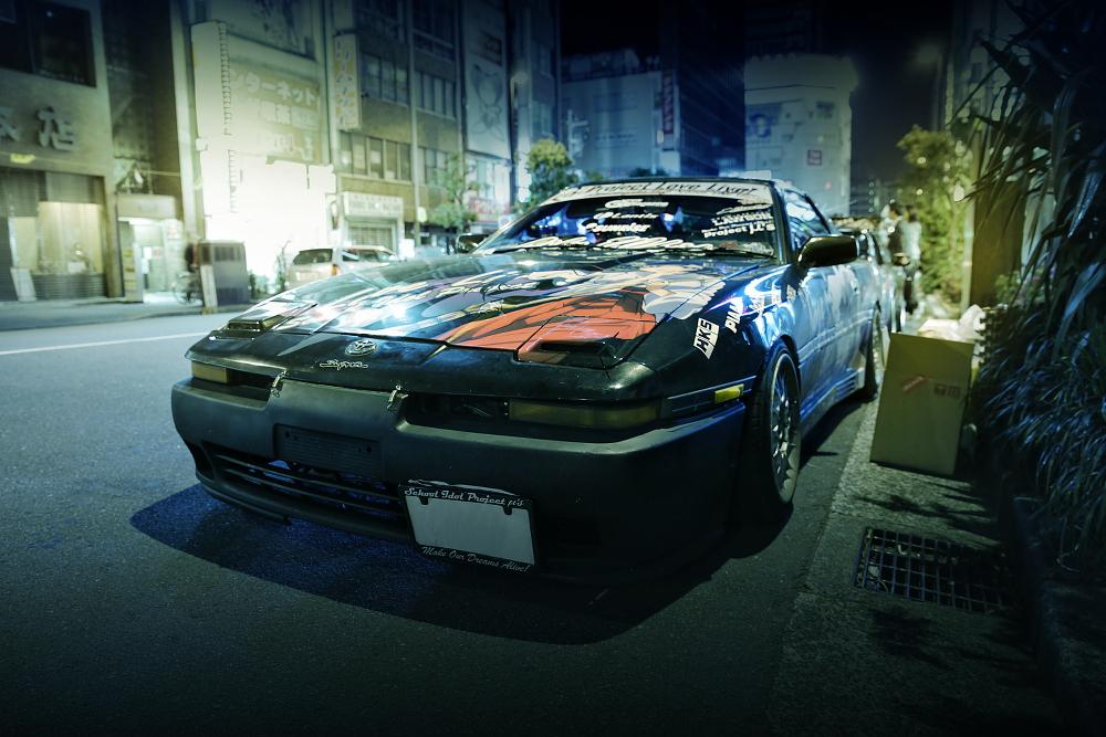 2015年ゴールデンウィーク撮影!秋葉原痛車ストリート(ラブライブ!東條希/70スープラ(ほずさん))
