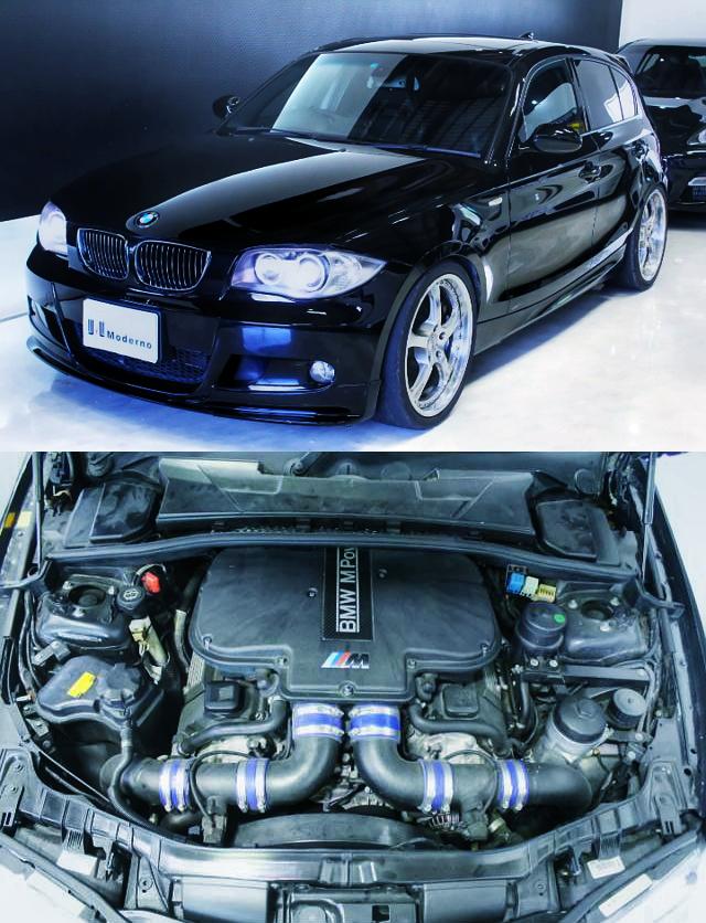 国内!400馬力!E39型BMW・M5用V8型S62エンジンスワップ公認ブレンボBK!BMW130i・Mスポーツ&1JZ換装TE72カローラ動画