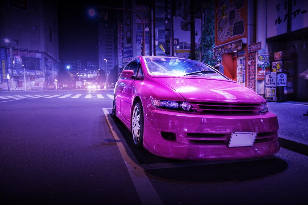 2015年ゴールデンウィーク撮影!秋葉原痛車ストリート(RB1型ホンダ・オデッセイ(霧雨さん))