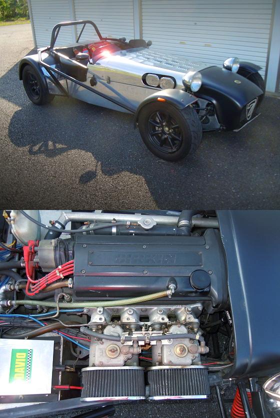AE111用5バルブ4AG換装ウェーバーキャブ仕様!FD3S用ブレーキキャリパー!バーキン・セブン