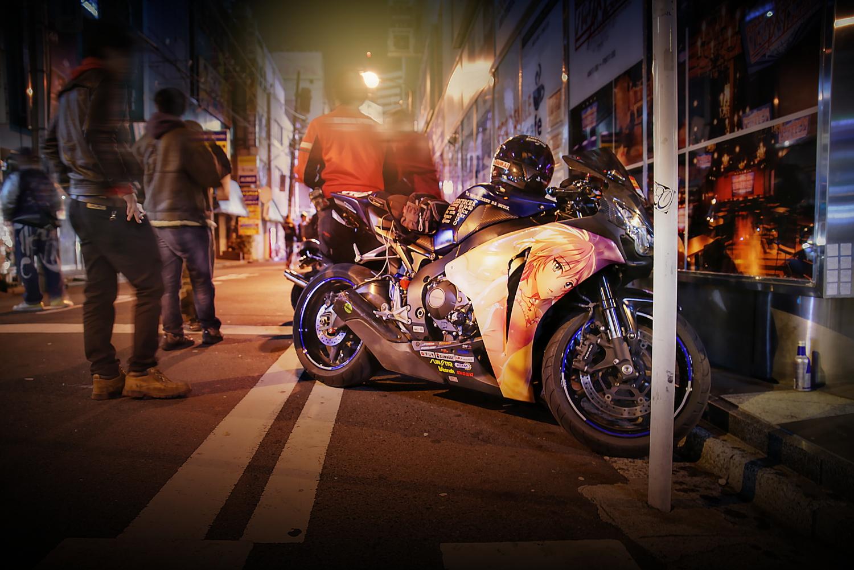 2015年ゴールデンウィーク撮影!秋葉原痛車ストリート(CBR1000RR(久世Pさん)/CB400SF(ていおーさん)/北条加蓮・APE)