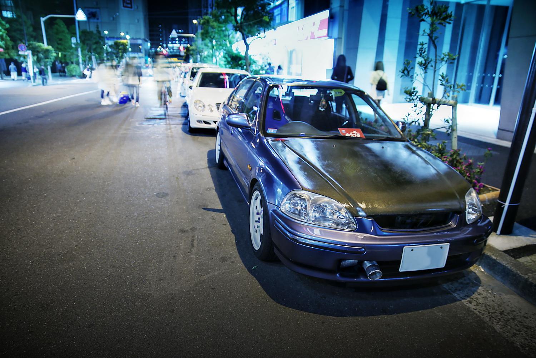 2015年ゴールデンウィーク撮影!秋葉原痛車ストリート(シビックフェリオ/ミクハヤブサ(hiroさん)/ホンダCBR)