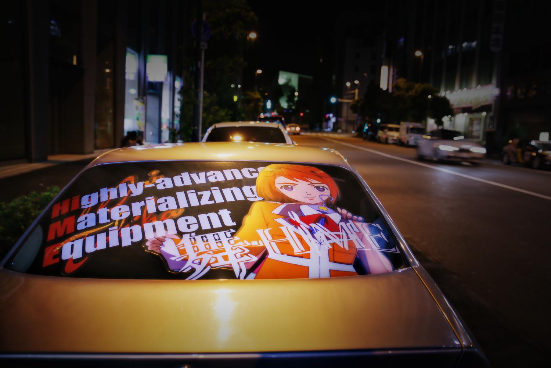 2015年6月撮影!秋葉原痛車ストリート(舞-HiME 鴇羽舞衣/E36型BMW)