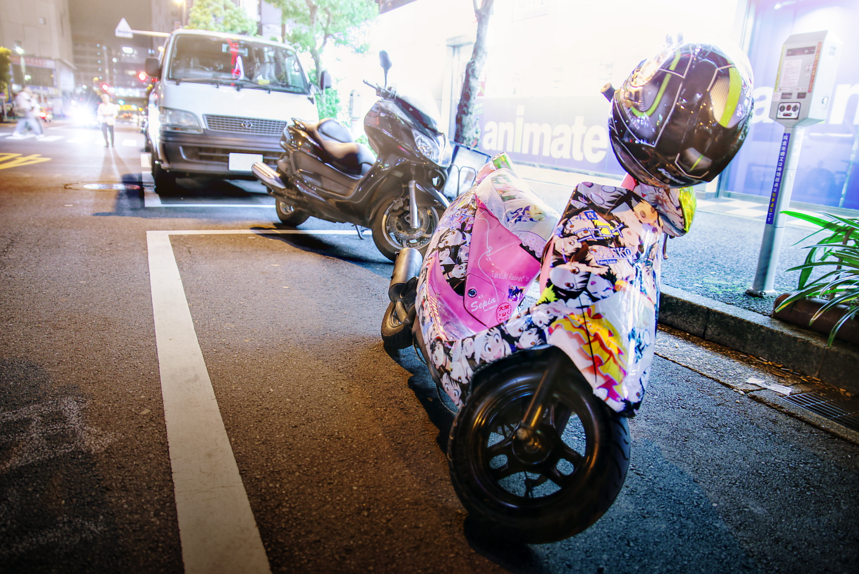 2015年6月撮影!秋葉原痛車ストリート(ニセコイ・小野寺さん/ホンダ Dio)