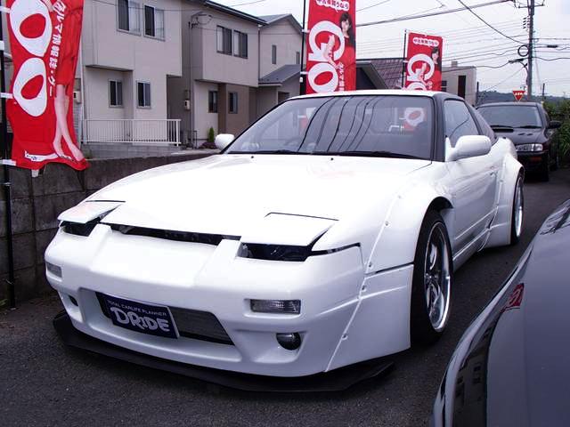 ROCKETBUNNYワイドボディ!GT3037フルタービンVプロ制御!日産180SX&草ヒロ!5代目サンバー・ディアス動画