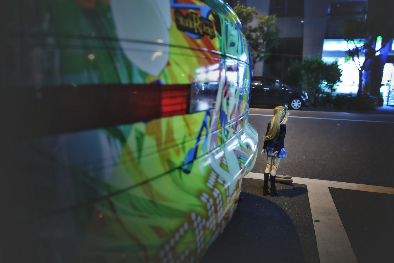 2015年ゴールデンウィーク撮影!秋葉原痛車ストリート(トヨタ・セラ(t-brosさん)/ことりちゃん(上等兵さん))