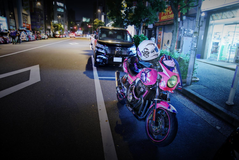 2015年6月27日撮影!秋葉原痛車通り(CB400SF(帝王さん)/ハヤブサ(hiroさん)/CBR1000RR(久世さん))