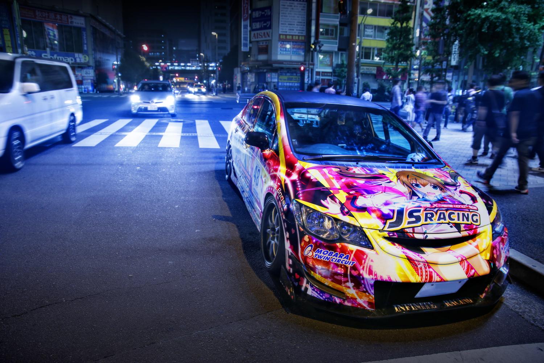 2015年6月27日撮影!秋葉原痛車通り(インフィニット・ストラトス 鳳鈴音/FD2シビックタイプR)