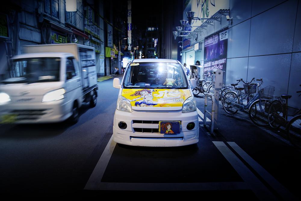 2015年7月撮影!秋葉原痛車通り(アイドルマスター 高槻やよい/HONDAライフ)