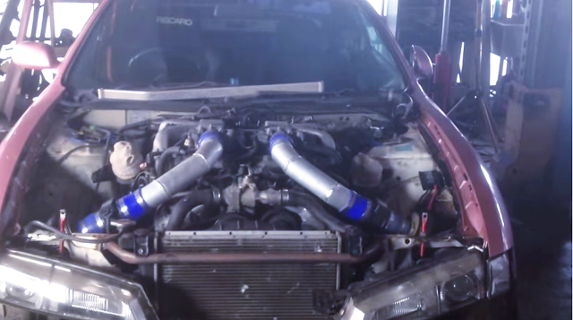 TD06タービン装着Vプロ現車セッティング!GREXブレーキ!CT9A三菱ランエボ7RS&V12型1GZエンジン換装S14シルビア動画