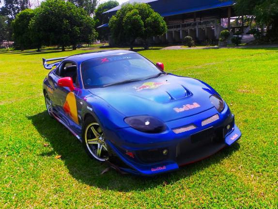 (マレーシア)300馬力!ランエボ6用4G63ターボEGスワップ!レッドブルカラー仕上げ!三菱FTO