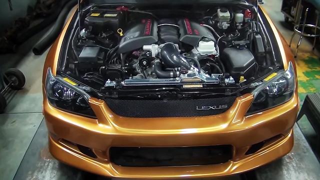 (カナダ)3S-GTEターボエンジンスワップ!AW11型トヨタMR-2&LS3エンジン換装レクサスIS300動画