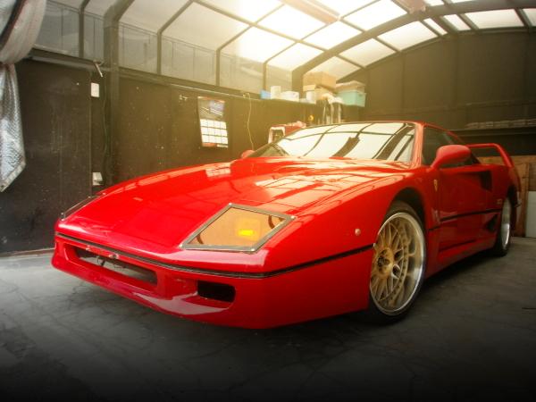 名車スーパーカー再現!国内販売フェラーリF40レプリカ!ポンティアックフィエロ