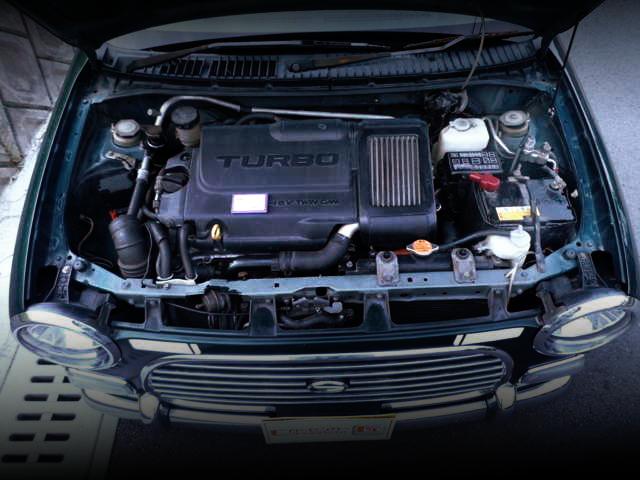140馬力!K3-VET型1.3Lターボエンジン移植!パドルシフト加工!初代ダイハツ・ミラジーノ