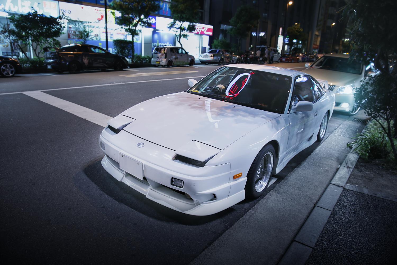 2015年8月コミケ88期間撮影!秋葉原痛車通り(日産180SX)