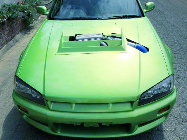 国内販売!4500cc!V8エンジン!VH45DE型エンジンスワップ!スポット増しボディ!日産R34スカイライン4ドア