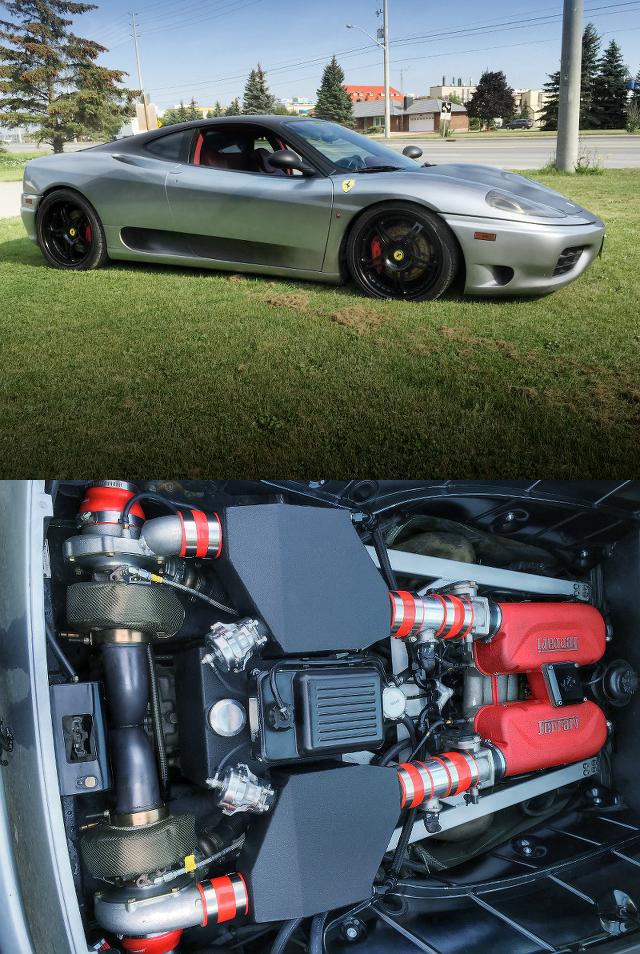 560馬力!ツインターボ仕上げ!フェラーリ360モデナのアメリカ中古車を掲載