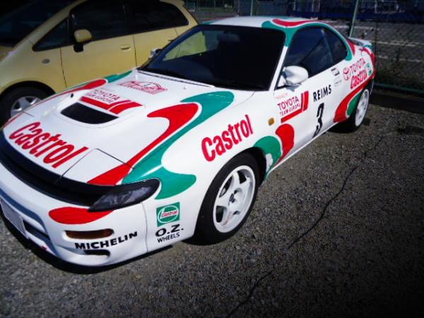 WRCレプリカ!カストロールカラーリング!ホモロゲモデル5代目ST185H型セリカRC