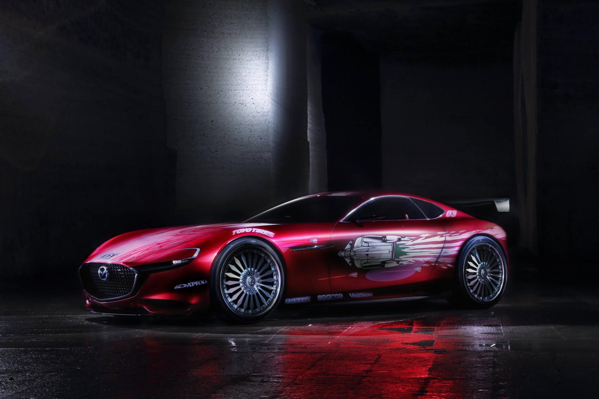 ワイルドスピード1!ドミニクRX-7仕上げ!コンセプトモデルMAZDA RX-VISION 「TOKYO MOTOR SHOW2015」