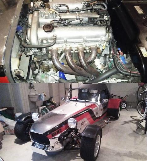 NBロードスター用BP-VE可変バルブ1.8Lエンジン6速MTスワップ!光岡ゼロワン