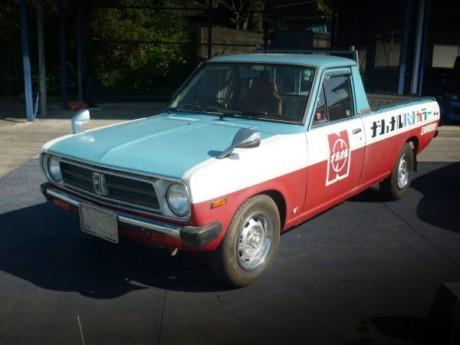 新車オリジナル!ナショナルカラー!室内保管!中期モデルB121型サニートラック