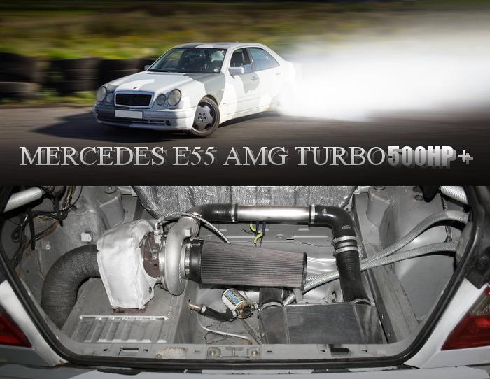 500馬力以上!V8リアマウントターボエンジン仕上げ!W210型メルセデスベンツE55AMGのイギリス中古車を掲載!