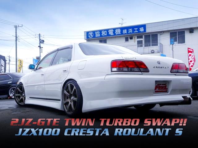 2JZ-GTEツインターボエンジン5速マニュアル仕上げ!JZX100クレスタ・ルラーンSの国内中古車を紹介!