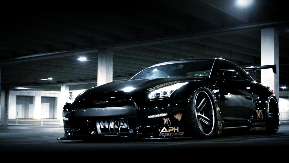 (アメリカ)LB-WORKSワイドボディ!エアサスキット!R35日産GT-R&RB26エンジン移植中!サイオンFRS動画