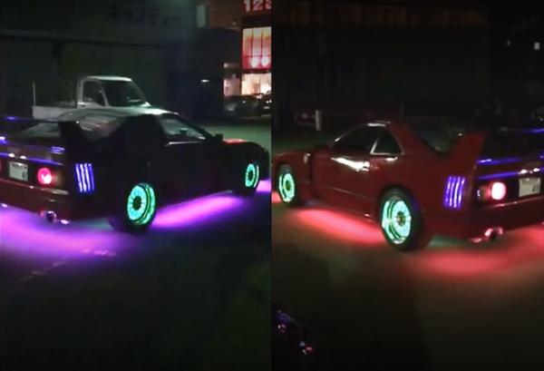 ネオン仕上げ!FC3S型マツダRX-7ベースのフェラーリF40レプリカ!!ハヤマTYPE-A&掲載車の動画