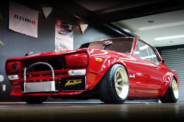 GTR用S20型エンジンスワップ!セミワークスワイド!KGC10型ハコスカ2ドアGT-X&13BターボEG!マツダRX-8動画